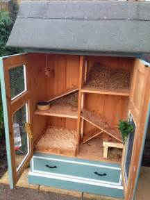 Country French Dresser - rabbit hutch ideas made from repurposed furniture the owner builder network