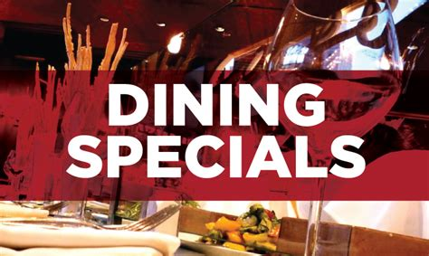 restaurant deals dining specials hastings racecourse
