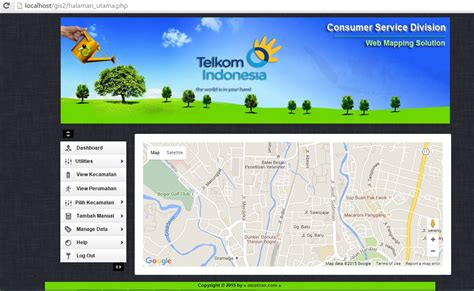 membuat sistem informasi sederhana berbasis web tutorial artikel tik 187 webgis telkom