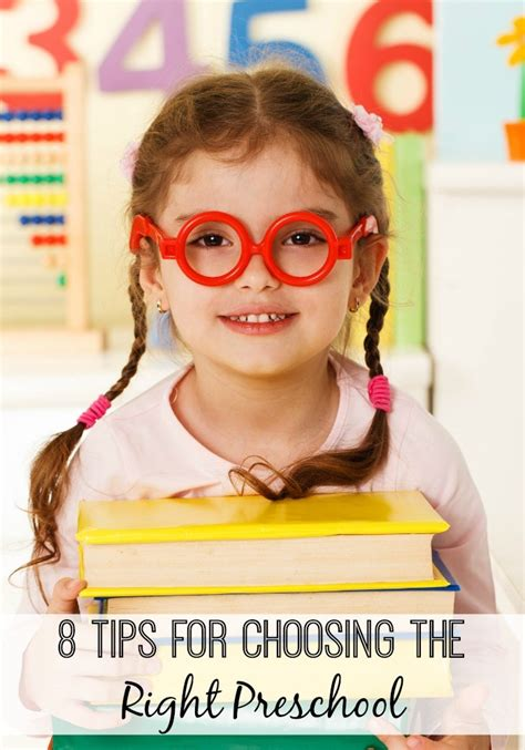 8 tips for choosing the right preschool for your child