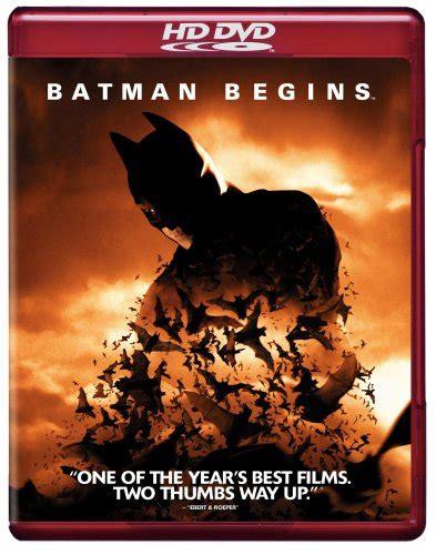 batman begins hd dvd review audioholics