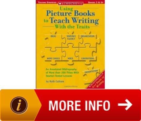 using picture books to teach writing a using picture books to teach writing with the