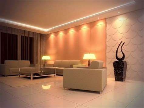 Glamorous Living Room Lighting Appealing Recessed Ceiling Designs Remarkable