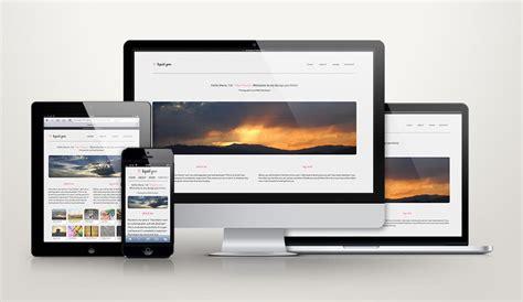 Typo3 Design Vorlagen Responsive Design Zehn Kostenlose Webdesign Templates T3n