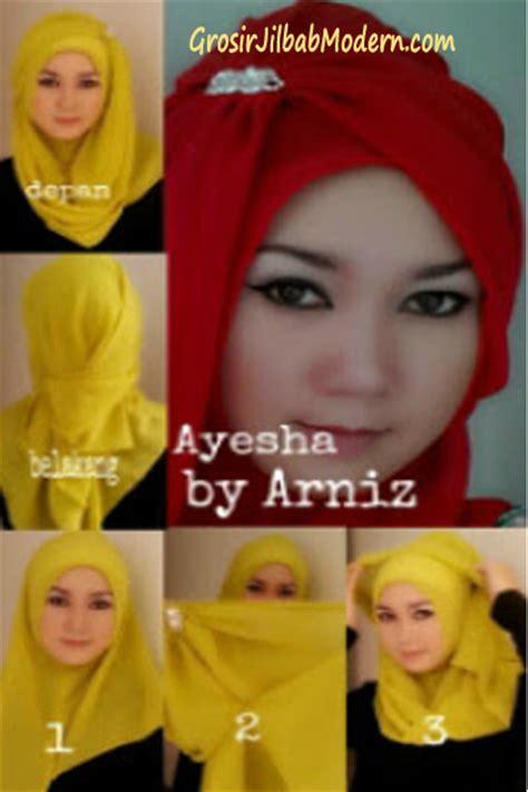 Jilbab Instan Arniz cara pakai jilbab ayesha instant grosir jilbab modern