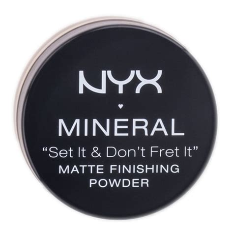 Nyx Mineral Finishing Powder nyx mineral matte finishing powder sleekshop