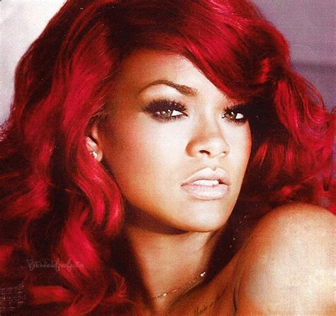 manic panic vire red hair rihanna shows us how to rock a bright red copy her look