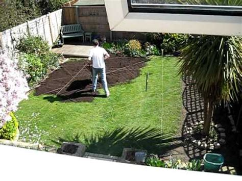 making  lawn level  youtube