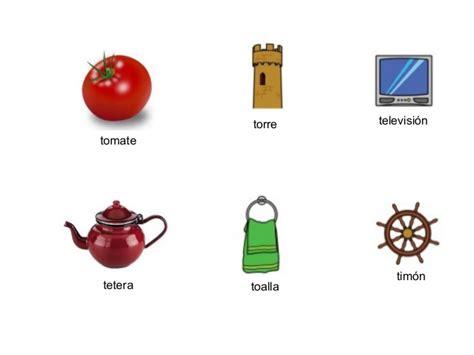 imagenes y palabras con t palabras con t