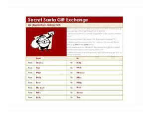 secret santa template secret santa generator secret santa template