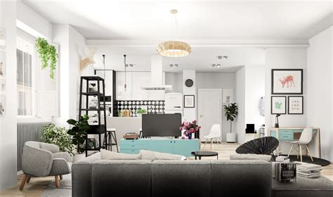 Nordic Home Interiors nordic living room interior design bring out a cheerful
