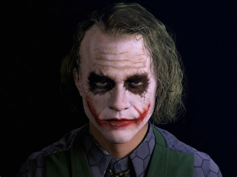 Heath Ledgers Joker Looks Familiar by Heath Ledger S Joker Recreated In Cgi Geektyrant