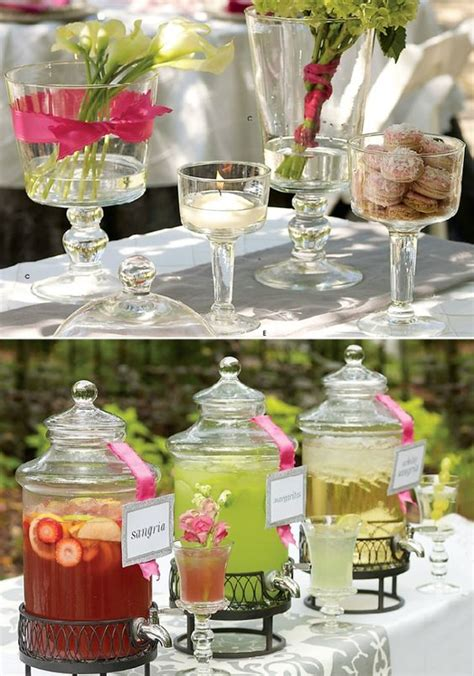 drinks table drink table ideas archives classic hostess