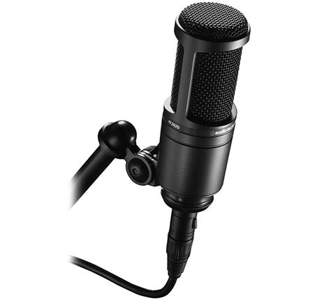 Audio Technica Ath Clr100is With Micropohone Black audio technica at2020 black xlr recording microphone ath