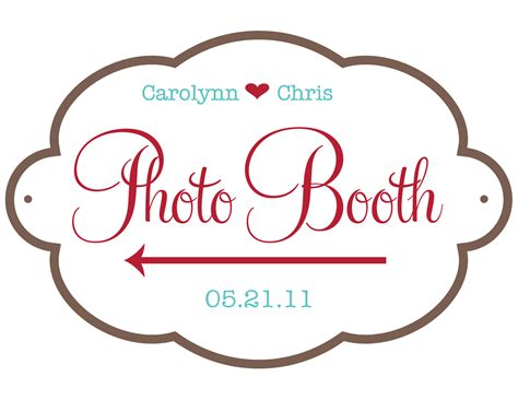 Wedding Sign Templates chris and carolynn newlyweds free wedding graphics and