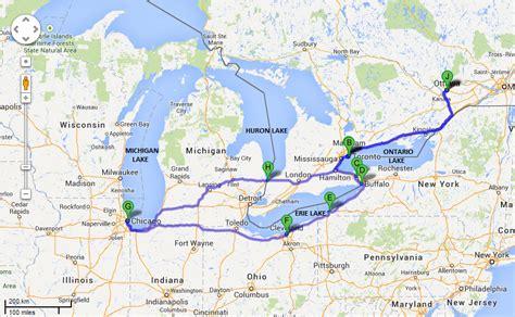 canada road trip map road trip usa canada il 233 tait une fois le canada