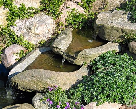 cascata giardino cascate pietra giardino acqua come realizzare una