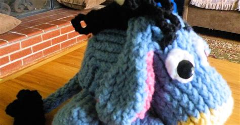 knitting terms wrap and turn the loom muse how to loom knit eeyore