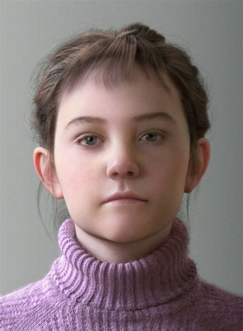 3d tiny girl realistic 3d artworks 2013 young girl 3d pinterest