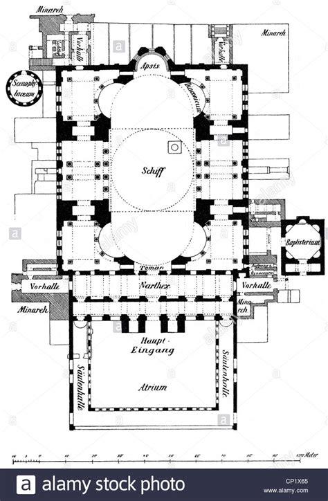 floor plan of hagia sophia architecture ground plans hagia sophia istanbul built