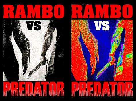 film rambo vs predator rambo vs predator by hammond09 on deviantart