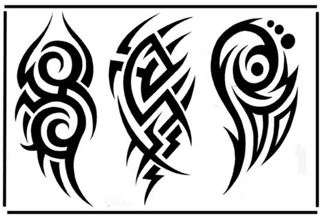 tribal tattoo flash 40 tribal designs