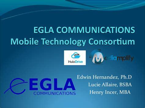 Consortium Statistics Program Mba by Egla Communications Mobile Technology Consortium