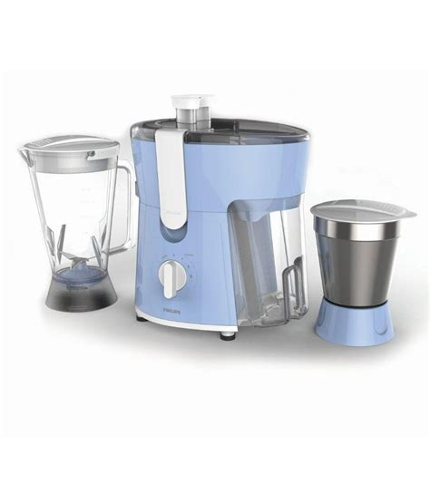 Juicer Philips 7 In 1 philips hl7575 juicer mixer grinder blue and white price