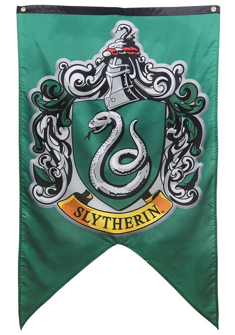 Home Decorations And Accessories by Slytherin Crest 30inx50in Banner From Harry Potter