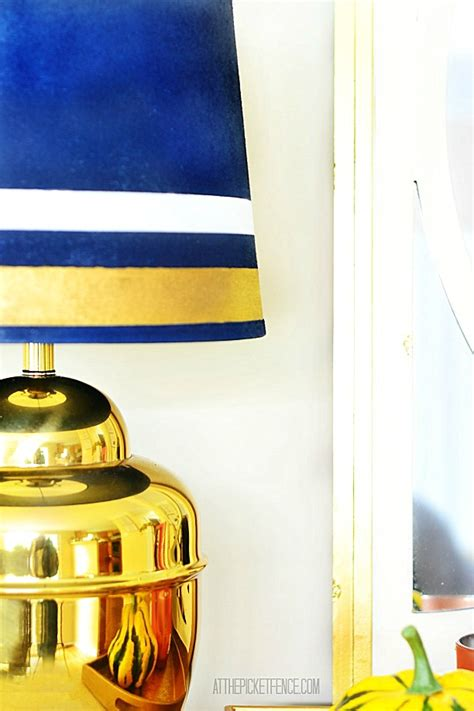 Can You Paint A L Shade by Brass L Makeover Gilded And Spray Painted L Shade