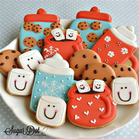 How To Decorate Cookies With Chocolate by Sugar Dot Cookies Cookie Decorating January 2016