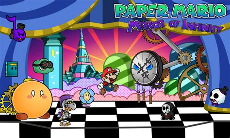 fan made mario games paper mario mirror of infinity chapter 3 by renleixue on