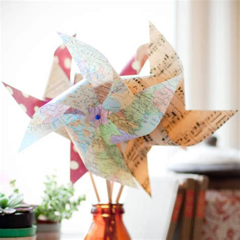 Pinwheels Out Of Paper - paper pinwheels diy tutorial content in a cottage