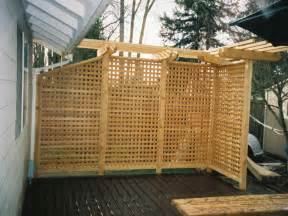 backyard screen outdoor outdoor privacy screen ideas deck with pergola