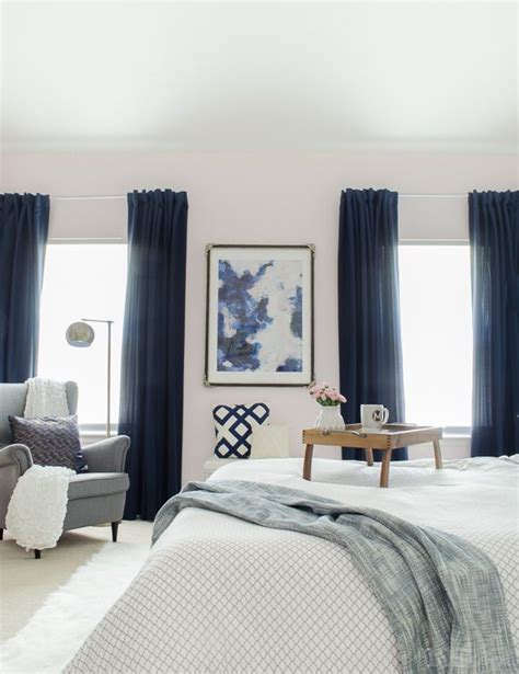 dark blue curtains bedroom best 25 navy curtains bedroom ideas on pinterest tan