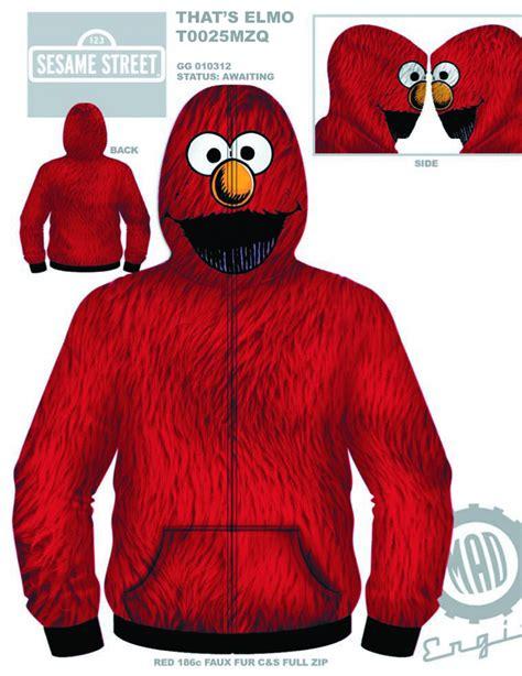 previewsworld sesame thats elmo costume hoodie xl c 0 1 4 pp 1