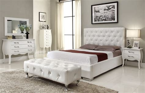 Distressed White Bedroom Furniture White Lacquered Wood No Dresser In Bedroom