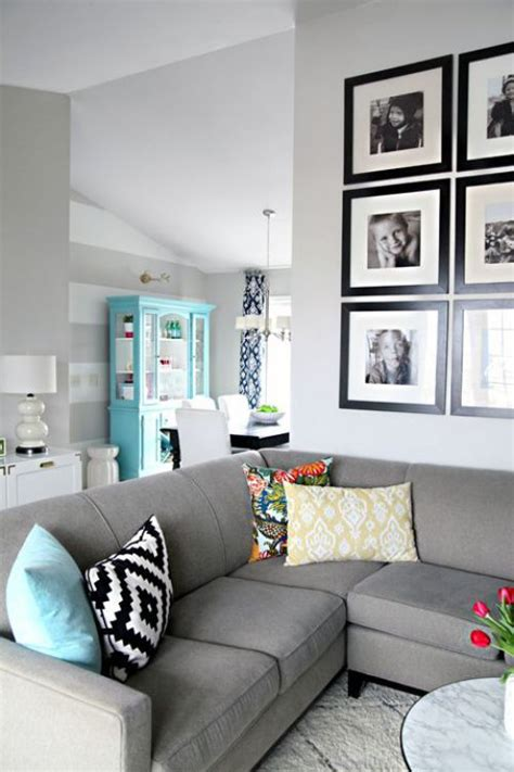 gray wall decor 25 best ideas about gray couch decor on pinterest