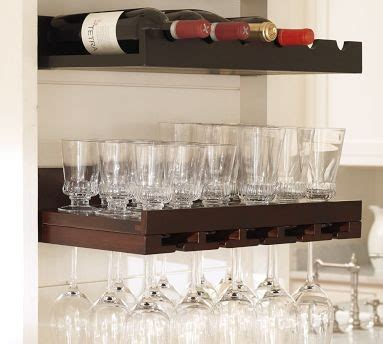 Pottery Barn Wine Rack Wall by Pottery Barn Holman Entertaining Shelves Display And