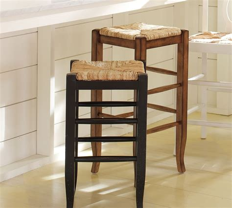 counter height bar stools pottery barn pottery barn napoleon backless barstool copycatchic