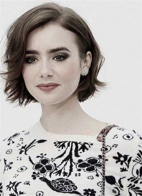 different ways to style chin length hair 25 short bobs for round faces bob hairstyles 2017