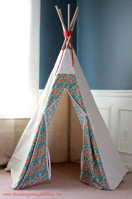 strawberry swing and other things 1000 ideas about teepee tutorial on pinterest teepees