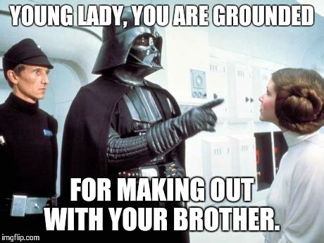 Young Old Lady Meme - father vader imgflip