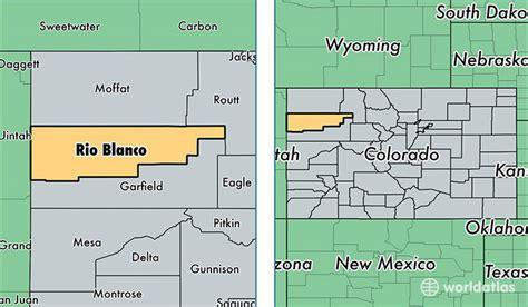 blanco county map blanco county colorado map of blanco county co