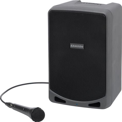 Samson Xp106 Rechargeable Portable Pa With Bluetooth samson expedition xp106 portable pa system with wired xp106 b h