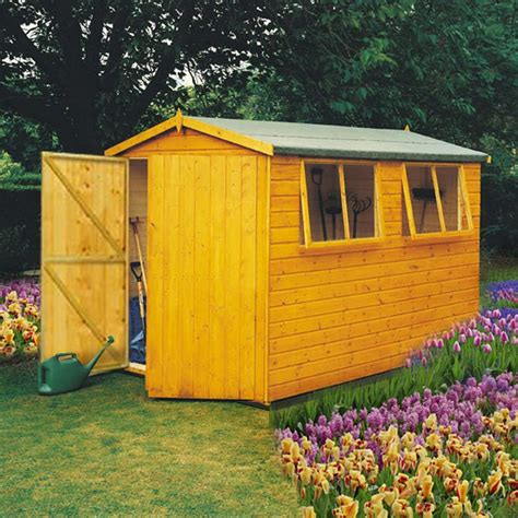 atlas apex shed 10 x 8 colchester sheds and fencing