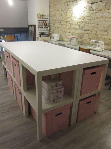 Pvc Kitchen Cabinets by Cr 233 Ation D Une Table De D 233 Coupe Pour L Atelier Couture