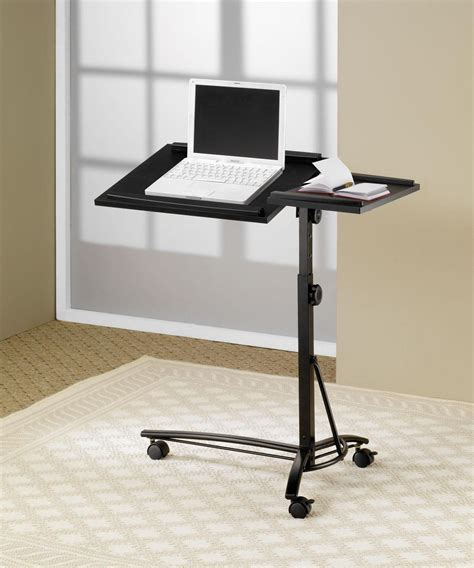Laptop Computer Stand With Adjustable Swivel Top Mobile Adjustable Swivel Laptop Desk