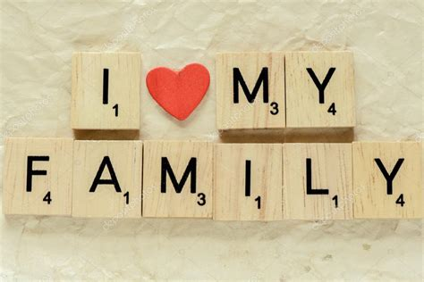 imagenes i love my family letras de ortograf 237 a me encanta mi familia fotos de