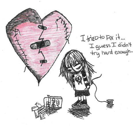 Heart Broken Memes - broken heart by mooquie on deviantart